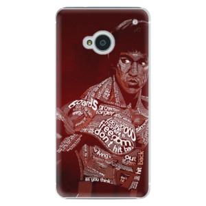 Plastové pouzdro iSaprio Bruce Lee na mobil HTC One M7