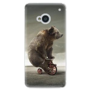 Plastové pouzdro iSaprio Bear 01 na mobil HTC One M7
