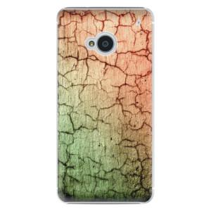 Plastové pouzdro iSaprio Cracked Wall 01 na mobil HTC One M7