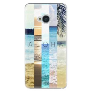 Plastové pouzdro iSaprio Aloha 02 na mobil HTC One M7