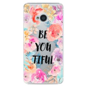 Plastové pouzdro iSaprio BeYouTiful na mobil HTC One M7