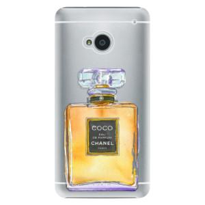 Plastové pouzdro iSaprio Chanel Gold na mobil HTC One M7