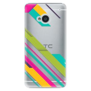 Plastové pouzdro iSaprio Color Stripes 03 na mobil HTC One M7