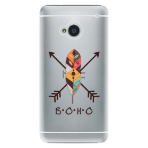 Plastové pouzdro iSaprio BOHO na mobil HTC One M7