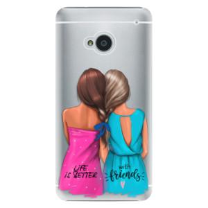 Plastové pouzdro iSaprio Best Friends na mobil HTC One M7