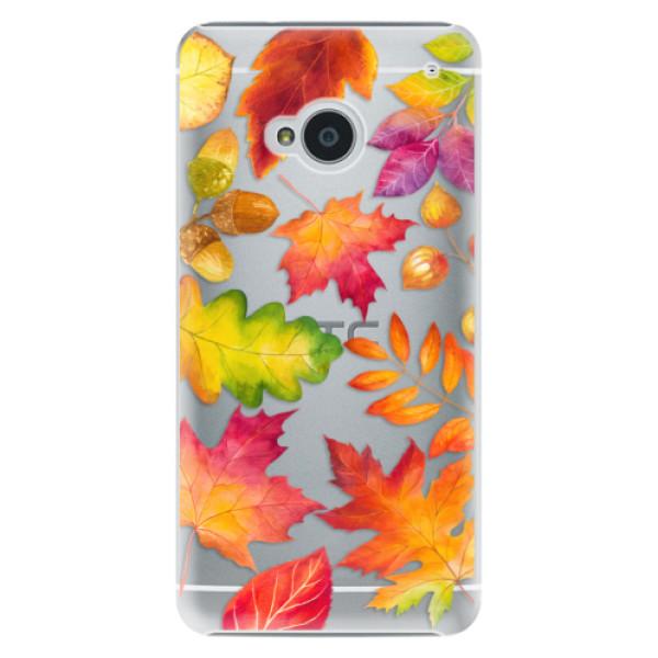 Plastové pouzdro iSaprio Autumn Leaves 01 na mobil HTC One M7 (Plastový obal, kryt, pouzdro iSaprio Autumn Leaves 01 na mobilní telefon HTC One M7)