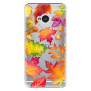 Plastové pouzdro iSaprio Autumn Leaves 01 na mobil HTC One M7