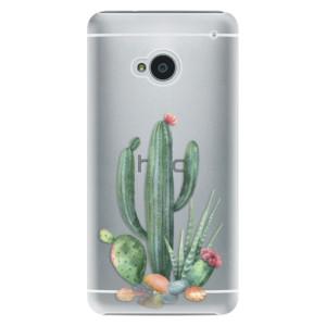 Plastové pouzdro iSaprio Cacti 02 na mobil HTC One M7