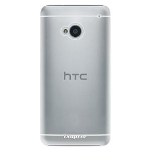 Plastové pouzdro iSaprio 4Pure mléčné bez potisku na mobil HTC One M7