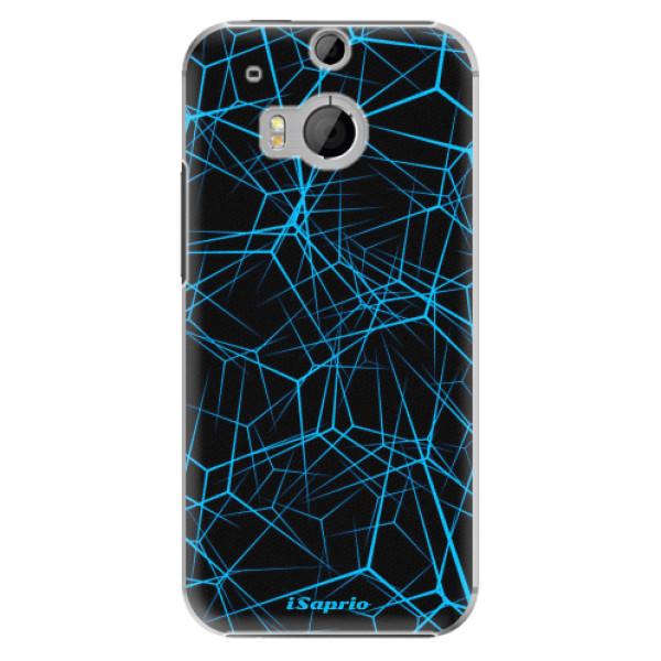 Plastové pouzdro iSaprio Abstract Outlines 12 na mobil HTC One M8 (Plastový obal, kryt, pouzdro iSaprio Abstract Outlines 12 na mobilní telefon HTC One M8)