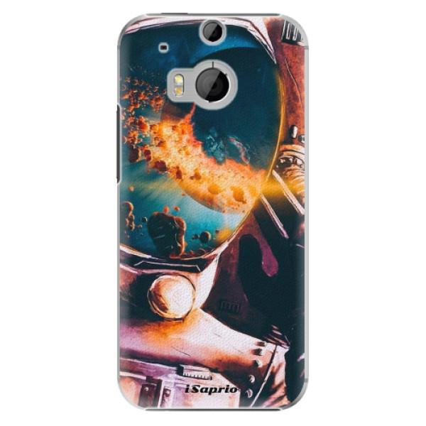 Plastové pouzdro iSaprio Astronaut 01 na mobil HTC One M8 (Plastový obal, kryt, pouzdro iSaprio Astronaut 01 na mobilní telefon HTC One M8)