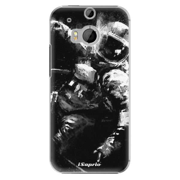 Plastové pouzdro iSaprio Astronaut 02 na mobil HTC One M8 (Plastový obal, kryt, pouzdro iSaprio Astronaut 02 na mobilní telefon HTC One M8)