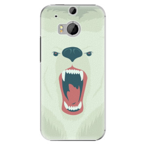 Plastové pouzdro iSaprio Angry Bear na mobil HTC One M8