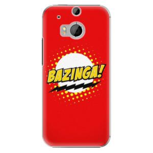 Plastové pouzdro iSaprio Bazinga 01 na mobil HTC One M8