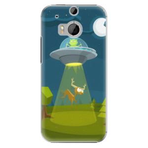 Plastové pouzdro iSaprio Alien 01 na mobil HTC One M8