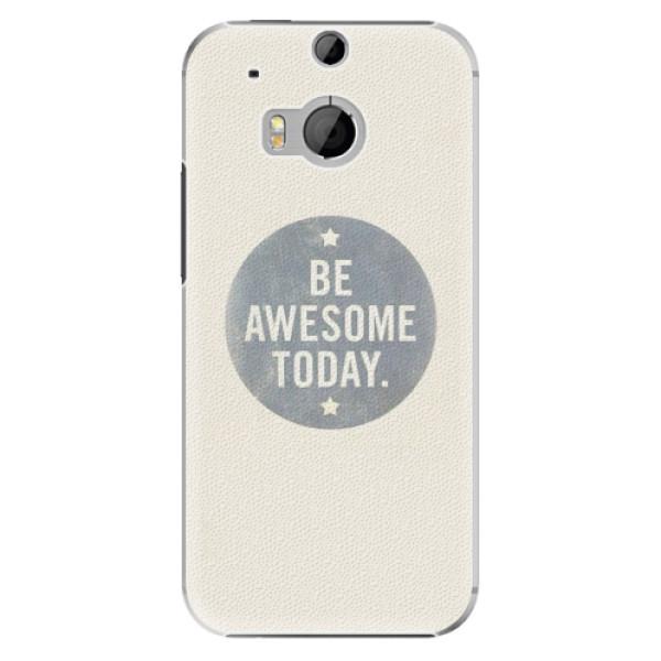 Plastové pouzdro iSaprio Awesome 02 na mobil HTC One M8 (Plastový obal, kryt, pouzdro iSaprio Awesome 02 na mobilní telefon HTC One M8)