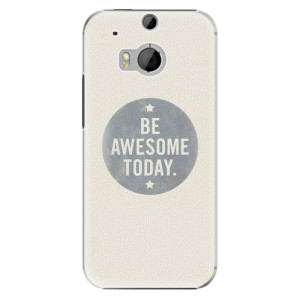 Plastové pouzdro iSaprio Awesome 02 na mobil HTC One M8