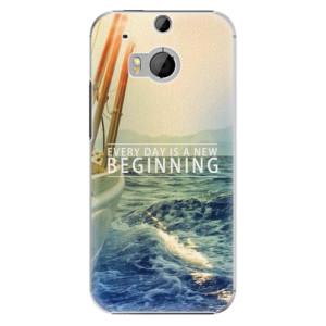 Plastové pouzdro iSaprio Beginning na mobil HTC One M8