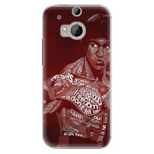 Plastové pouzdro iSaprio Bruce Lee na mobil HTC One M8