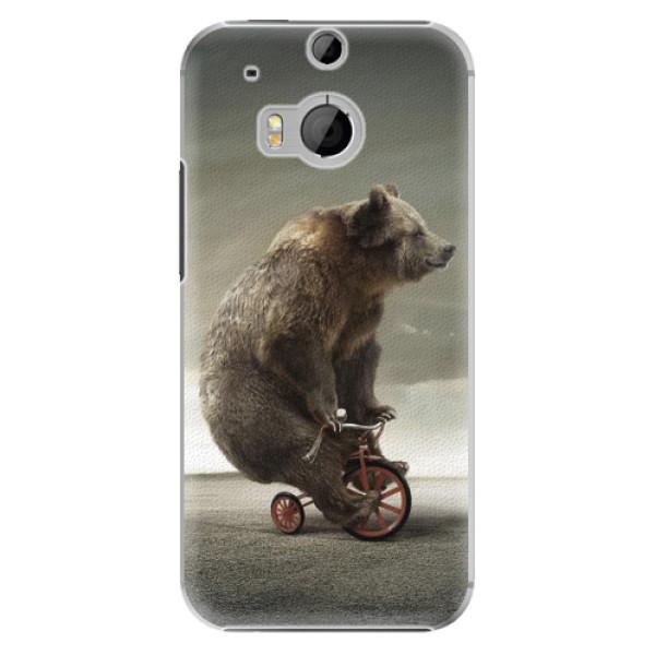 Plastové pouzdro iSaprio Bear 01 na mobil HTC One M8 (Plastový obal, kryt, pouzdro iSaprio Bear 01 na mobilní telefon HTC One M8)