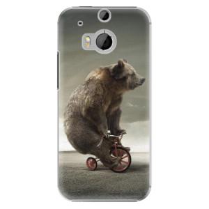 Plastové pouzdro iSaprio Bear 01 na mobil HTC One M8