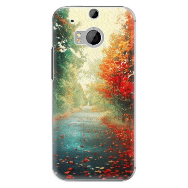 Plastové pouzdro iSaprio Autumn 03 na mobil HTC One M8 (Plastový obal, kryt, pouzdro iSaprio Autumn 03 na mobilní telefon HTC One M8)
