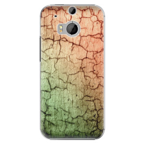 Plastové pouzdro iSaprio Cracked Wall 01 na mobil HTC One M8
