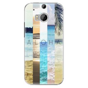 Plastové pouzdro iSaprio Aloha 02 na mobil HTC One M8