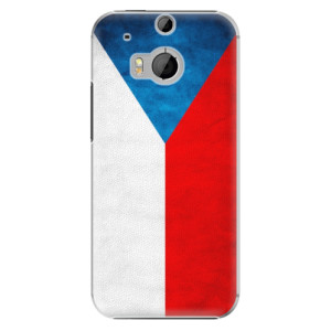Plastové pouzdro iSaprio Czech Flag na mobil HTC One M8