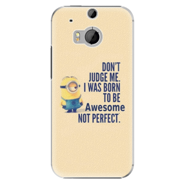 Plastové pouzdro iSaprio Be Awesome na mobil HTC One M8 (Plastový obal, kryt, pouzdro iSaprio Be Awesome na mobilní telefon HTC One M8)