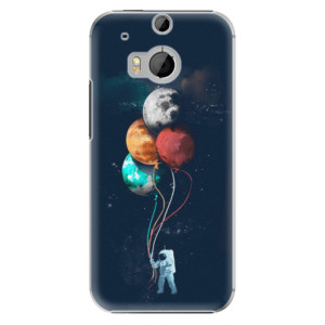 Plastové pouzdro iSaprio Balloons 02 na mobil HTC One M8
