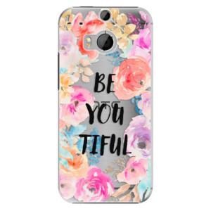 Plastové pouzdro iSaprio BeYouTiful na mobil HTC One M8