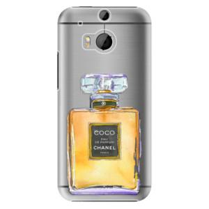 Plastové pouzdro iSaprio Chanel Gold na mobil HTC One M8