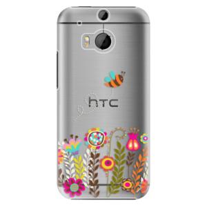 Plastové pouzdro iSaprio Bee 01 na mobil HTC One M8