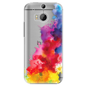 Plastové pouzdro iSaprio Color Splash 01 na mobil HTC One M8