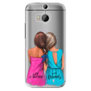 Plastové pouzdro iSaprio Best Friends na mobil HTC One M8