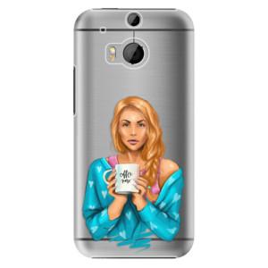 Plastové pouzdro iSaprio Coffe Now Redhead na mobil HTC One M8