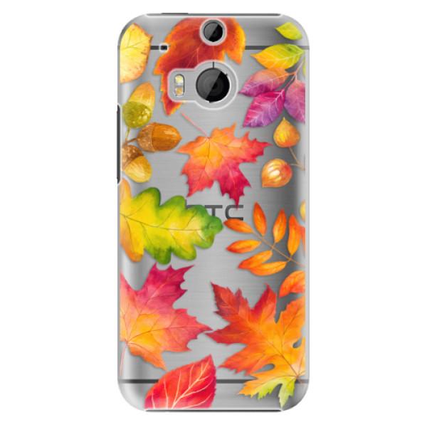 Plastové pouzdro iSaprio Autumn Leaves 01 na mobil HTC One M8 (Plastový obal, kryt, pouzdro iSaprio Autumn Leaves 01 na mobilní telefon HTC One M8)