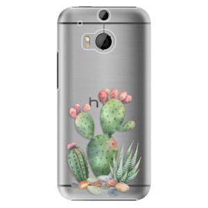 Plastové pouzdro iSaprio Cacti 01 na mobil HTC One M8