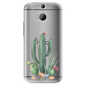 Plastové pouzdro iSaprio Cacti 02 na mobil HTC One M8