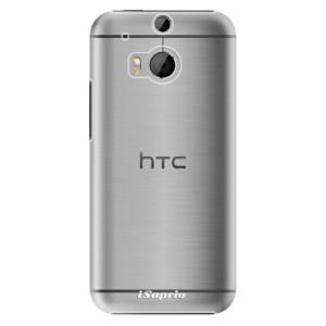 Plastové pouzdro iSaprio 4Pure mléčné bez potisku na mobil HTC One M8