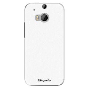 Plastové pouzdro iSaprio 4Pure bílé na mobil HTC One M8