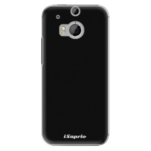 Plastové pouzdro iSaprio 4Pure černé na mobil HTC One M8
