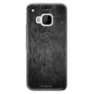 Plastové pouzdro iSaprio Black Wood 13 na mobil HTC One M9