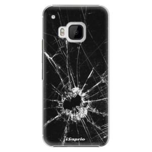 Plastové pouzdro iSaprio Broken Glass 10 na mobil HTC One M9