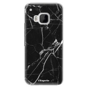 Plastové pouzdro iSaprio Black Marble 18 na mobil HTC One M9
