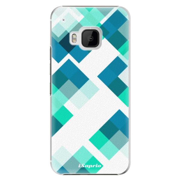 Plastové pouzdro iSaprio Abstract Squares 11 na mobil HTC One M9 (Plastový obal, kryt, pouzdro iSaprio Abstract Squares 11 na mobilní telefon HTC One M9)