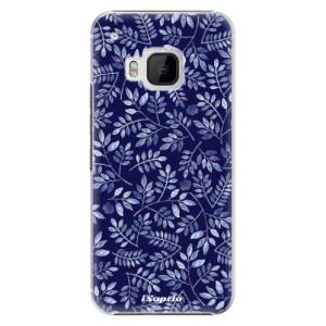 Plastové pouzdro iSaprio Blue Leaves 05 na mobil HTC One M9