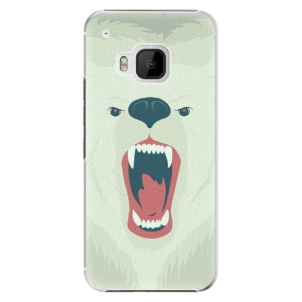 Plastové pouzdro iSaprio Angry Bear na mobil HTC One M9 (Plastový obal, kryt, pouzdro iSaprio Angry Bear na mobilní telefon HTC One M9)