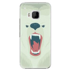 Plastové pouzdro iSaprio Angry Bear na mobil HTC One M9